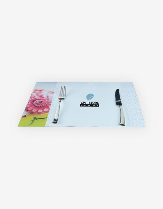 Set De Table Plastique Luxe 39 X 26 Cm Echantillon Gw Store