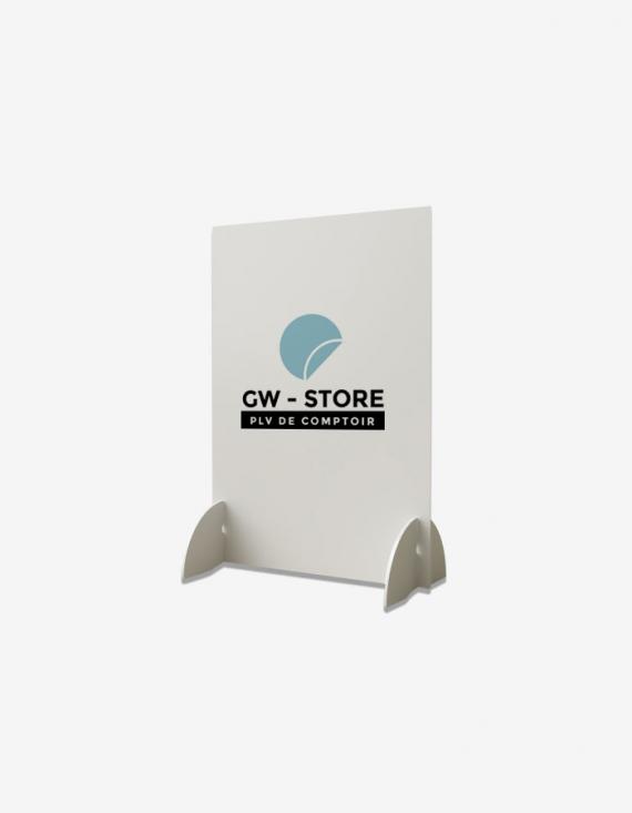 PLV de comptoir 21 x 30 cm - Paysage