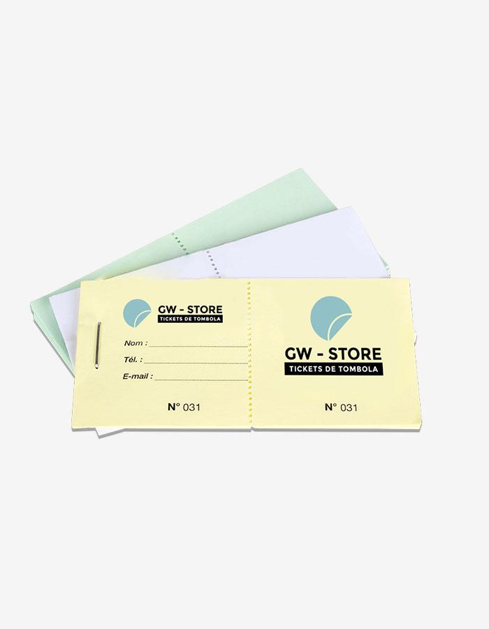 ticket de tombola tickets de tombola 5 x 10 cm tickets de tombola