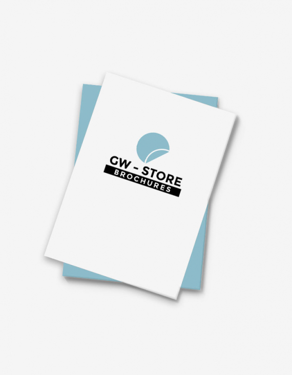 Brochure dos carré collé 15 x 21 cm fermé - Échantillon